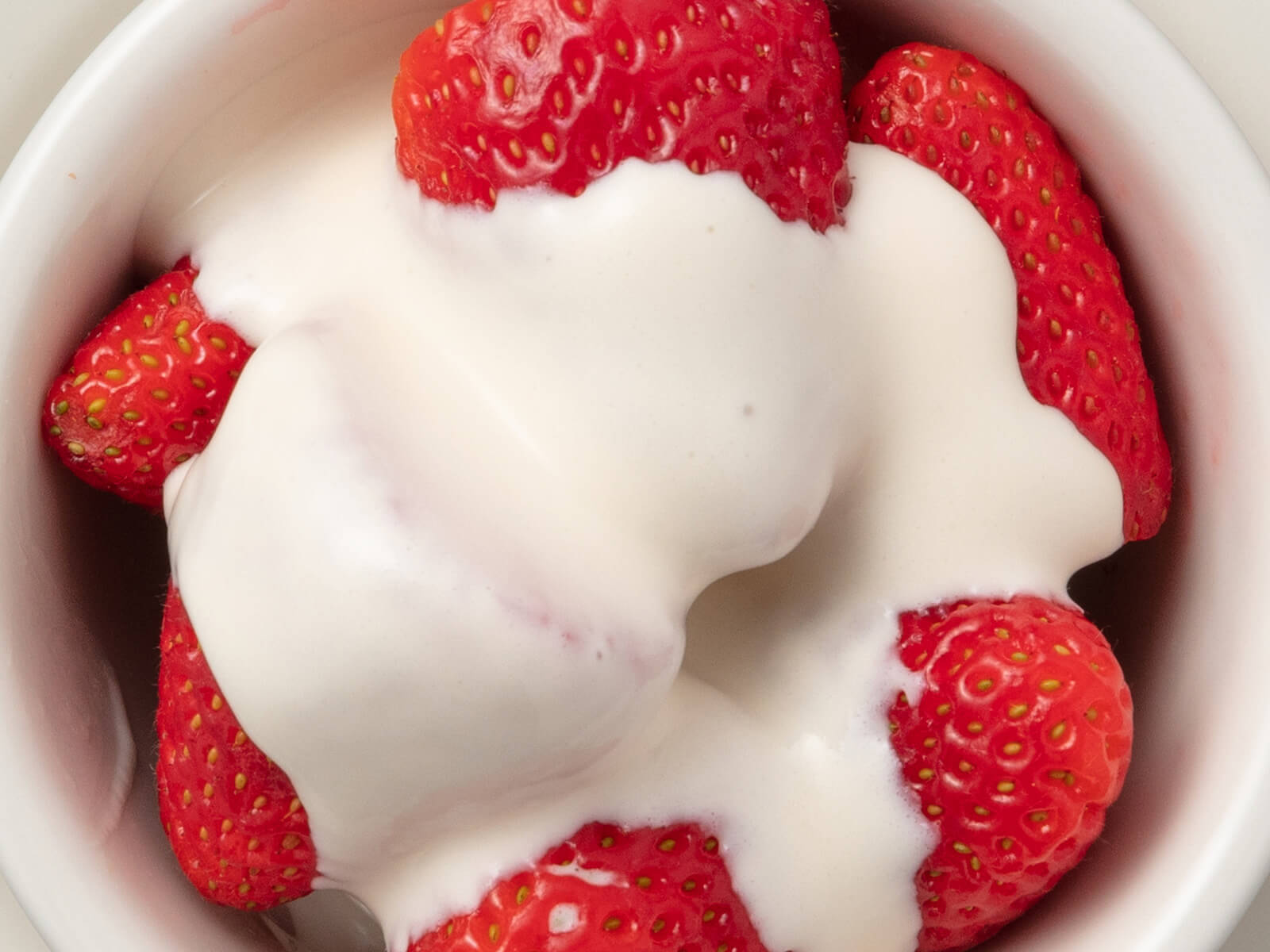 Strawberries Romanoff