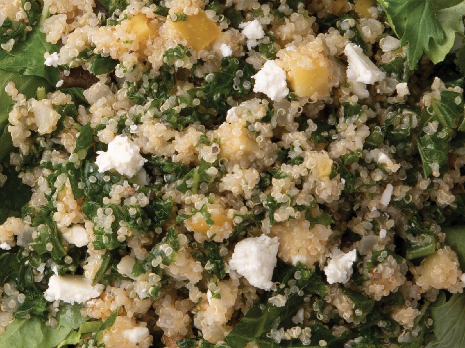 Seasonal Kale & Quinoa