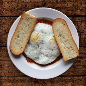Spicy Eggs Basque
